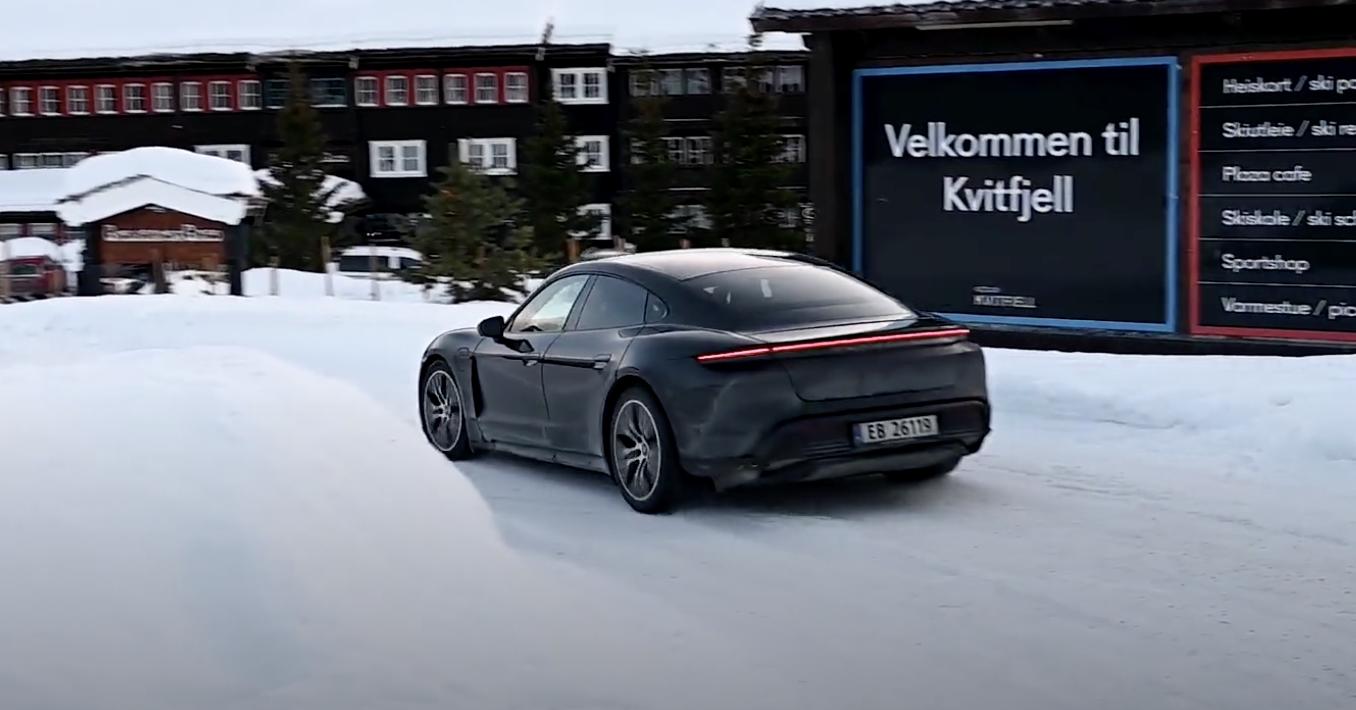 Taycan 4s Shows Promising Range In Winter Roadtrip Test Porsche Taycan Forum Taycanforum Com