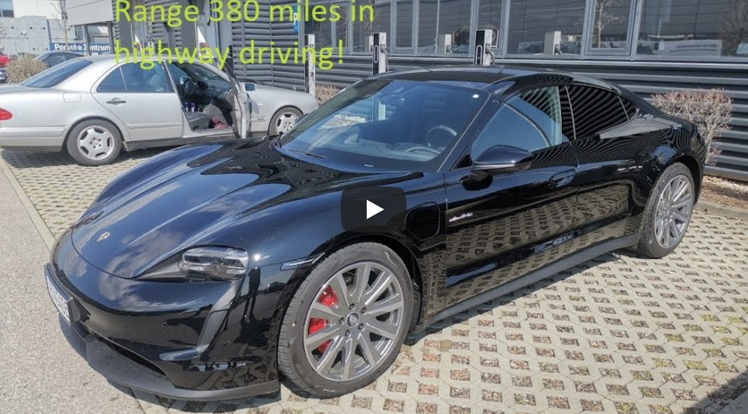 2020 Taycan 4s Range Test Results In 381 Miles 610 Km Single Charge Non Stop Driving Porsche Taycan Forum Taycanforum Com